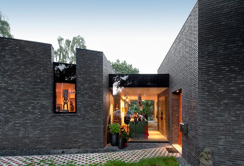 Haus Klinker Modern Brick House Beautiful Neues Aus Klinker Haus