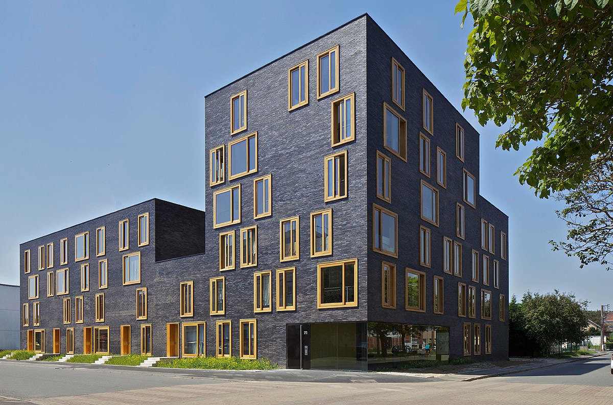 23 Dwellings (FRES architectes, Paris / Genf mit KENK architecten, Amsterdam)