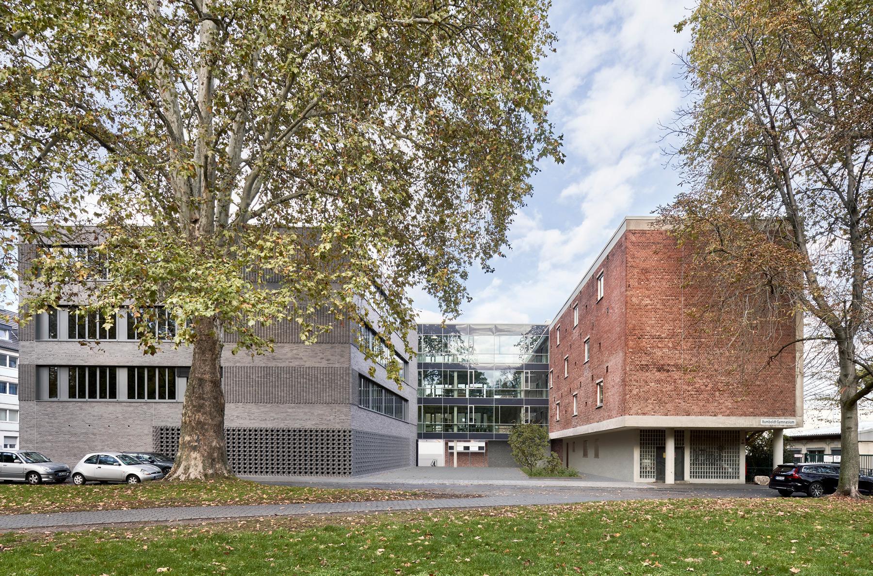Humboldt-Gymnasium, Köln. NAK-Architektur, Berlin. Fotografie: Annika Feuss