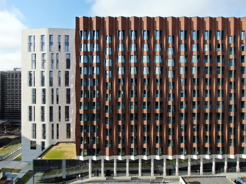 Speech Building Garten Viertel, Moskau. Speech Architects, Moskau. Fotografie: Daniel Annenkov
