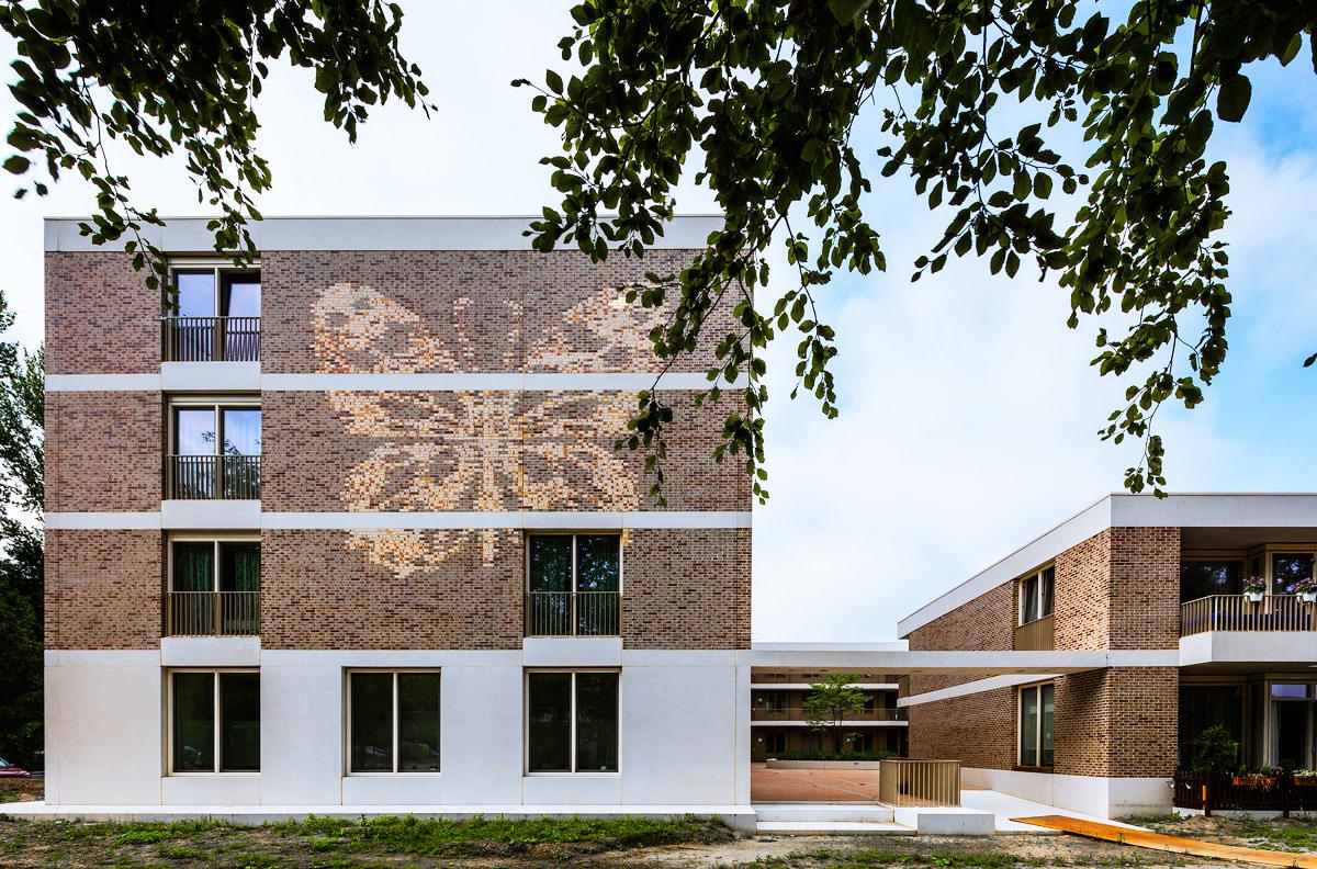 Seniorenwohnen Wielewaal, Rotterdam. Architektur: KAW Architekten, Rotterdam. Fotografie: Sebastian van Damme.